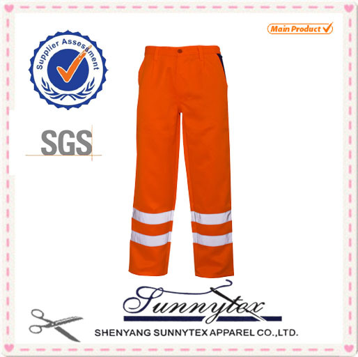 Coverall Trousers Polycotton Uniform Reflective Hi Vis Workwear pictures & photos