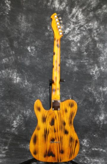 Ash Wood Body Burning Finish AlNiCo Pickups Yellow Tele Electric Guitar Guitarra All Color Available pictures & photos