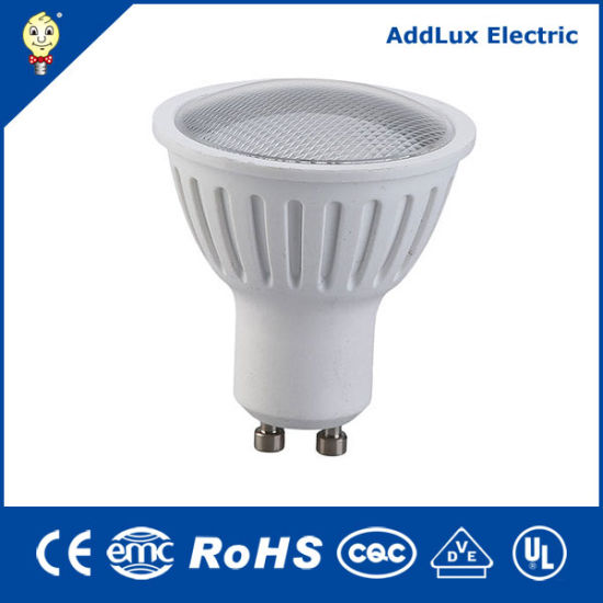 Hotsale Ce UL Saso 5W COB GU10 LED Spotlight Bulb Made in China for Home & Business Indoor Lighting From Best Distributor Supplier Factory