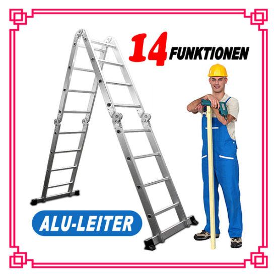 China Aluminum Multi-Purpose Scaffolding Ladder/Step