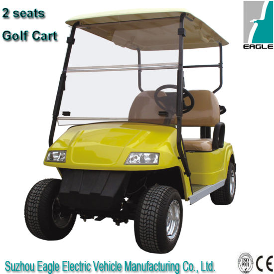 Electric Golf Cart, 2 Seats, CE Approved