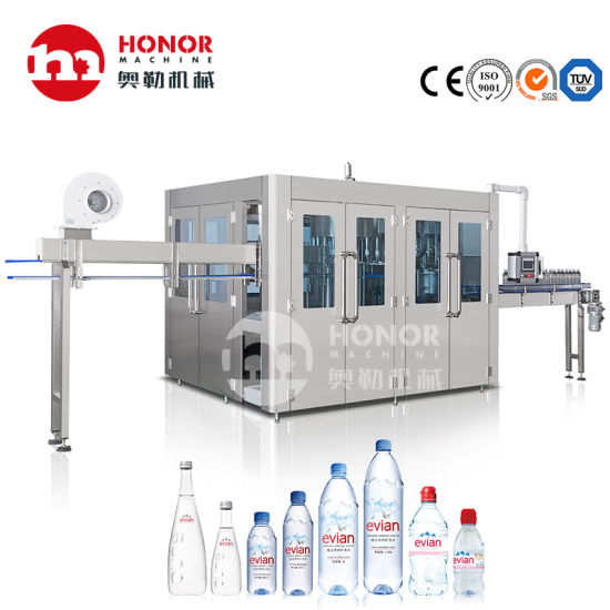5000-6000 Bph Automatic Pet Bottle Filling and Packing Moulding Machine Factory