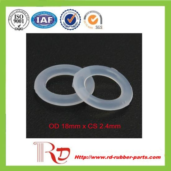 China Practical and Durable Clear Silicone Rubber O Ring - China ...