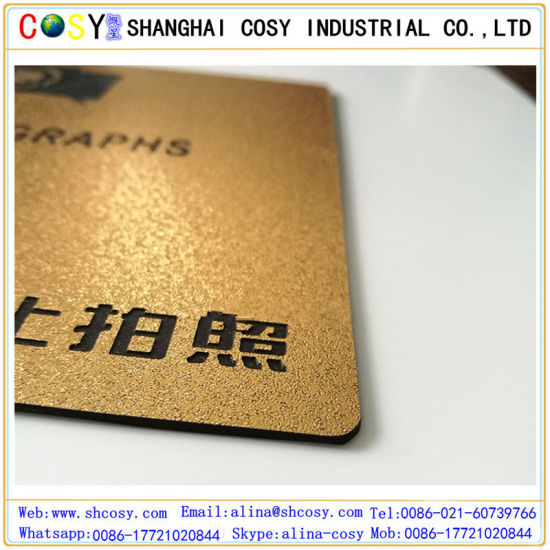 Engraving Plastic ABS Double Color Board/Double Colour ABS/Engraving ABS Plastic Sheet pictures & photos