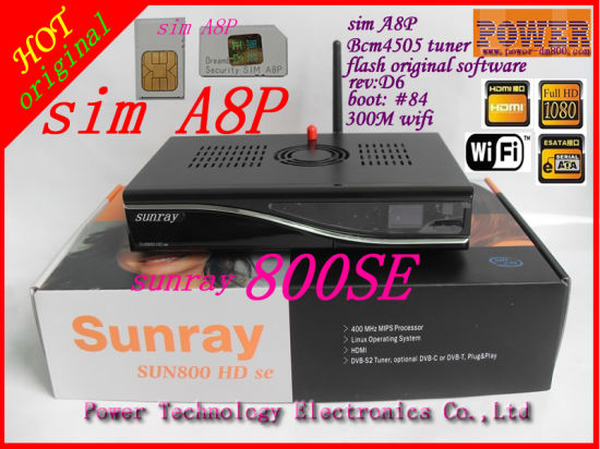Sunray 800 Hd Se Image