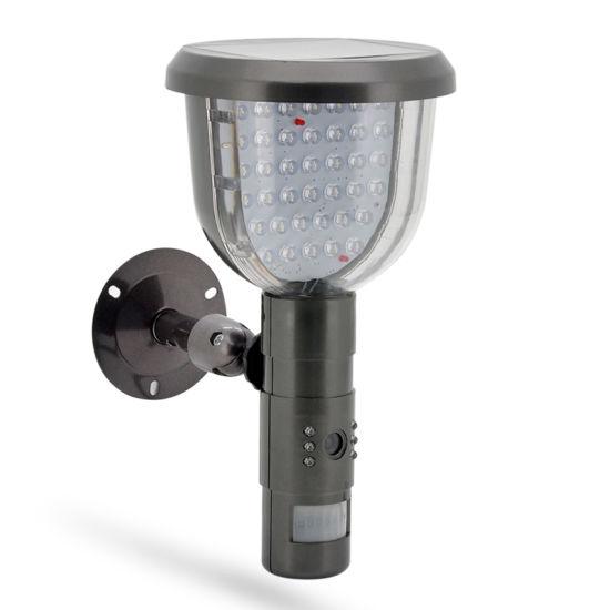 HD 720p Garden Light Home Security Light Solar PIR Camera DVR