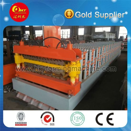 Double Layer Color Steel Tiles Roll Forming Machine Equipment