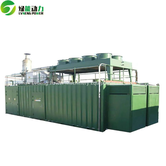 500kw Biogas Generator with Circulating Water Cooling pictures & photos