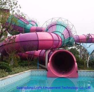 Fiberglass Fusion Water Slide for Aqua Park (WS-037)