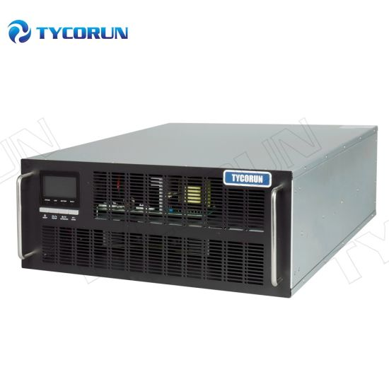 Tycorun Customized Single Phase 3 Phase Online Rackmount UPS 1kVA-10kVA with LCD Display