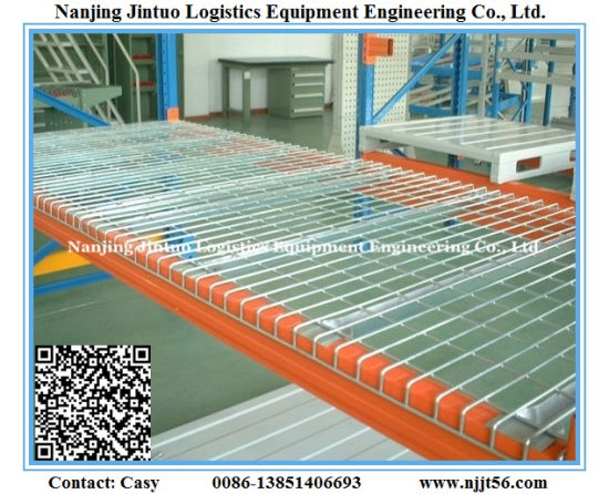 Heavy Duty Wire Mesh Pallet Rack for Warehouse Storage pictures & photos