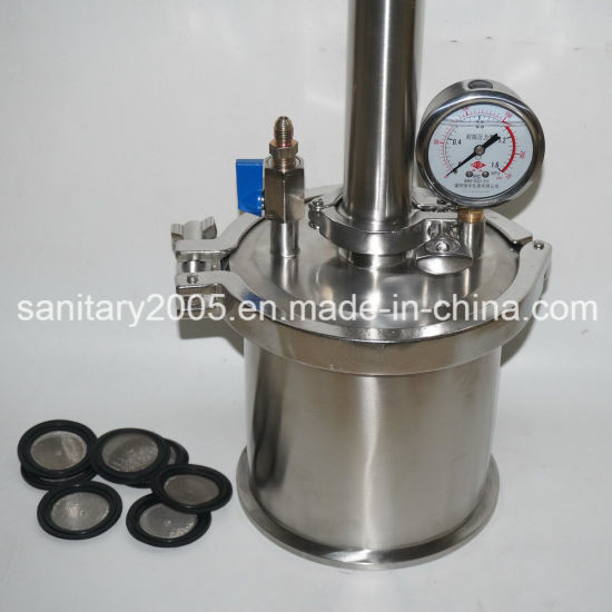 """Stainless Steel 3""""X18"""" Sleeved Jacketed Spool with 2"""" Drain"""