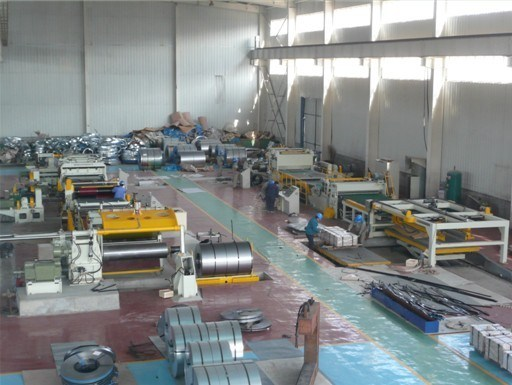 Metal Coil Slitting & Cut to Length Combined Machine Line pictures & photos