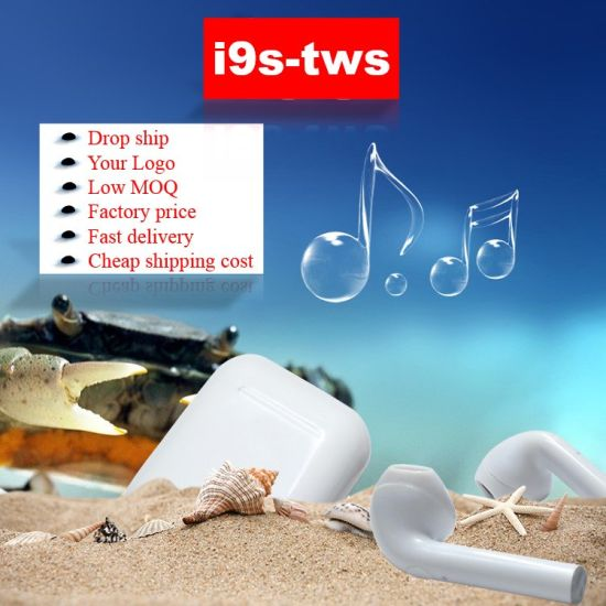 I9s Tws Wireless Headphone Bluetooths V5.0 Earphone Wireless Earbuds Sport Headset with Package