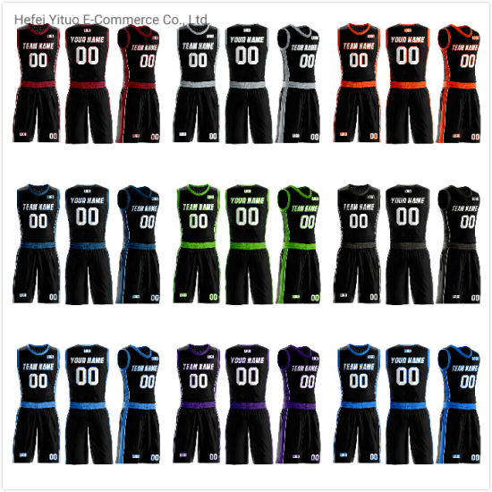High Quality Wholesale Men Women Youth Unique Colors Basketball Suits Sportswear