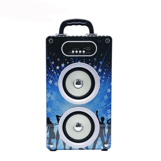 LED Light Marquee Speaker Wireless with USB TF FM Radio pictures & photos