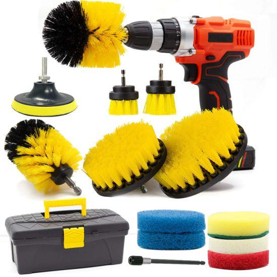 Quality Electric Nylon Drill Brush Kit