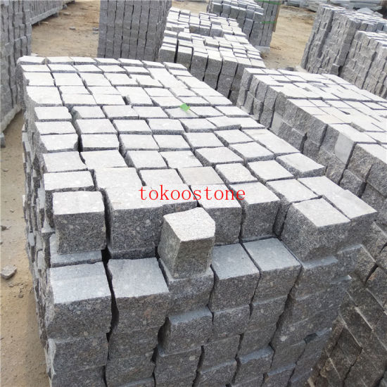 Black/Grey/Red/Yellow/White/Green Natural Stone Granite for Cobble Stone/Pavement/Driveway Paver/Cubes/Paving Stone