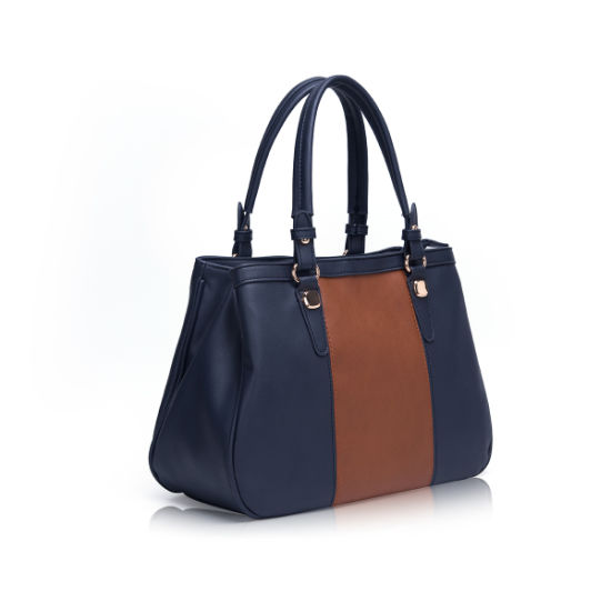 Fashion PU Leather Women Replica Handbags Guangzhou Distributor Designer Wholesale Lady Tote Bags 60086 pictures & photos