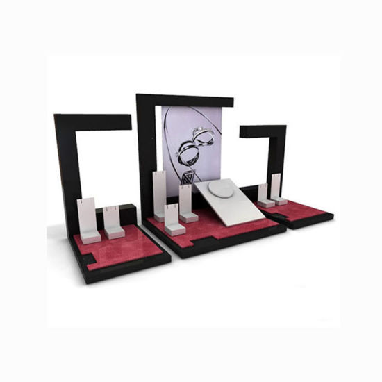 Wholesale Customize Wooden Acrylic Varnishing Jewelry Stand pictures & photos