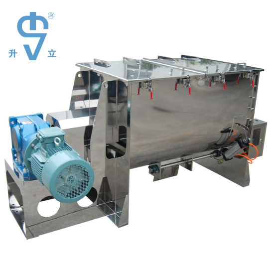 High Efficient Horizontal Ribbon Mixer for Pharmaceuticals / Chemicals Material Mixture