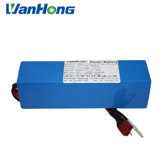 14.8V 6800mAh High Quality Li-ion Battery/Lithium Ion Battery/Lithium Ion Rechargeable Batteries/LiFePO4 18650 Rechargeable Battery for Garden Tool