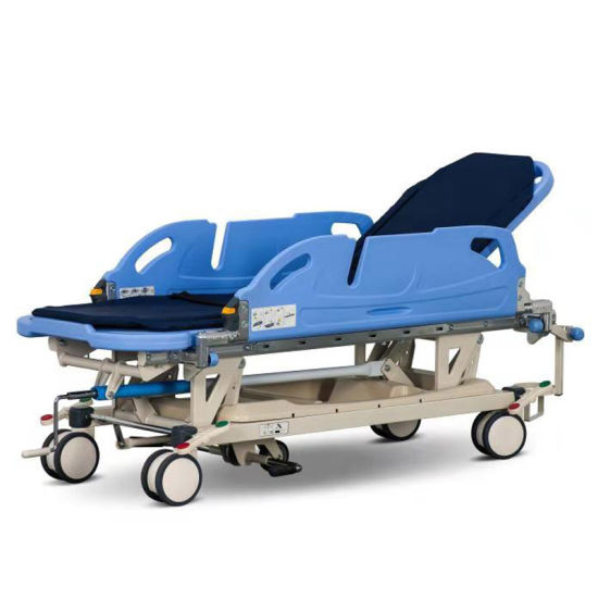 Rh-D101 Manual Patient Transfer Trolley for Hospital