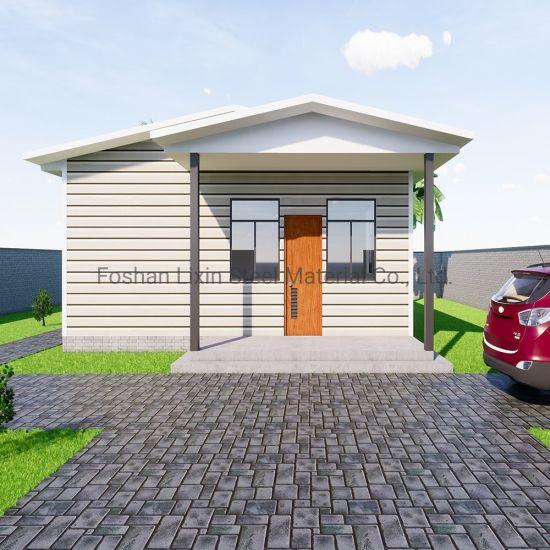 Popular Steel Prefabricated Modular House Building Materials for Prefab House