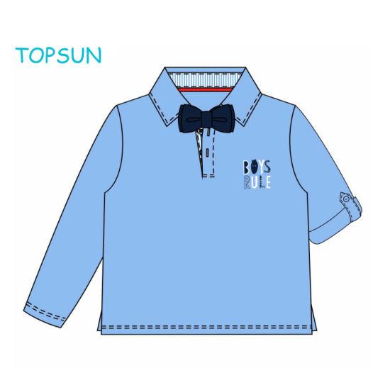 2020 New Kids Clothing Kids Polo Long-Sleeved T-Shirt Kids Baby Polo Shirt