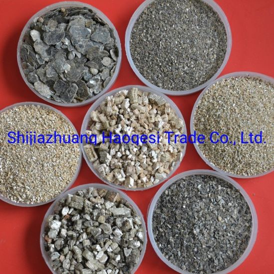 Plasters and Construction Coatings Used Gold Silver Expaned Vermiculite