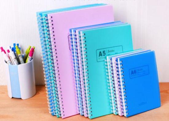Hot Sale PVC Cover A4 A5 A6 Wholesale Custom Notebook