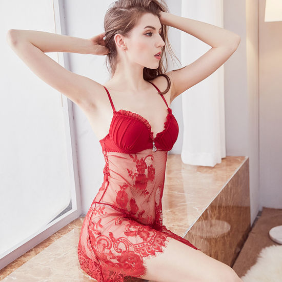 2019 Women's Sexy Push up Cup Babydoll Sexy Lingerie M8699