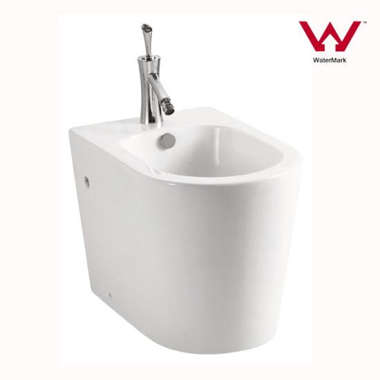 Watermark Approved Sanitary Ware Round Bathroom Toilet Bidet (202)