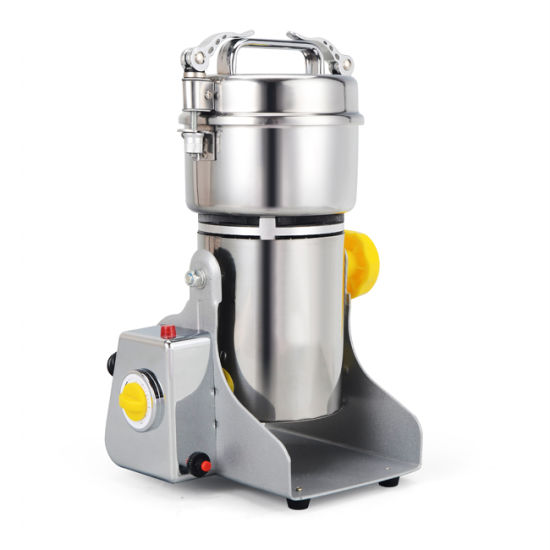 Electric Stainless Steel 400g Powder Swing Grain Pulverizer Grinder Machine
