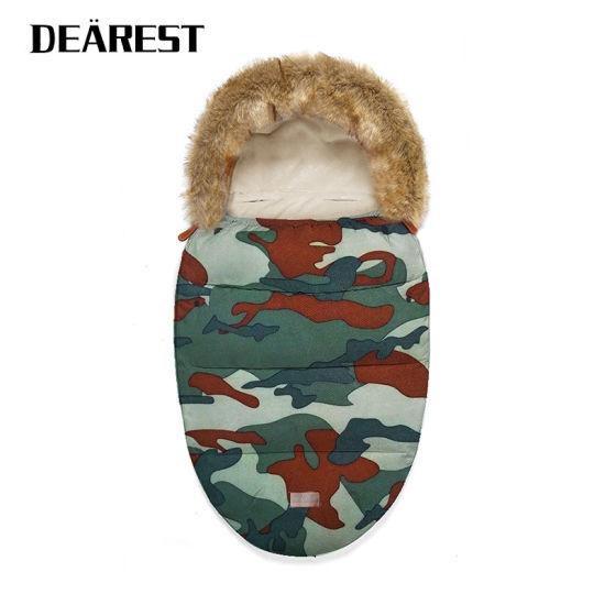 OEM Factory Directly Dearest Wholesale Soft Fur Stroller Sleeping Bag for Baby
