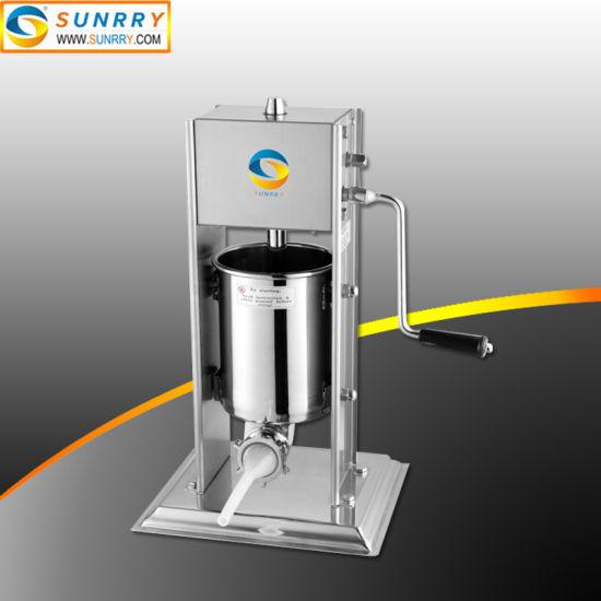 3 Liters Vertical Type Manual Small Sausage Filler Machine