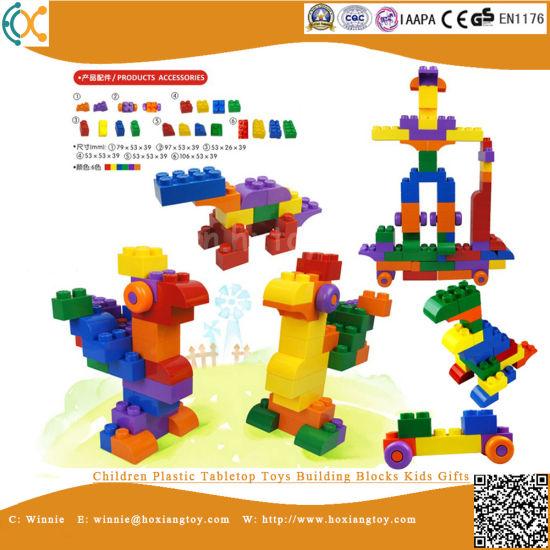Children Plastic Tabletop Toys Building Blocks Kids Gifts