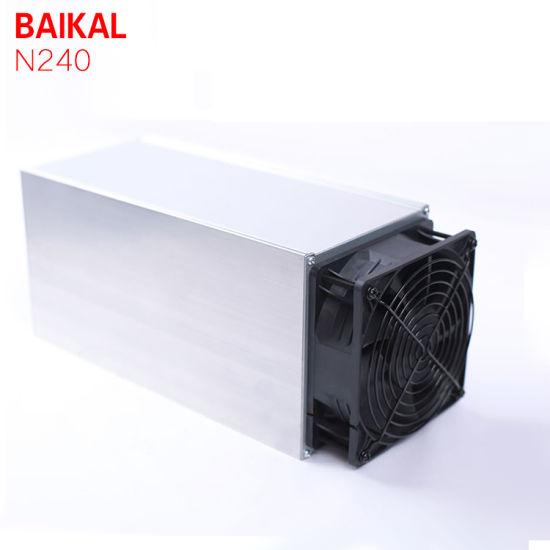 Hot Sale Arrivals Cryptonight Baikal Miner Bk N240 Baikal N240 240kh/S