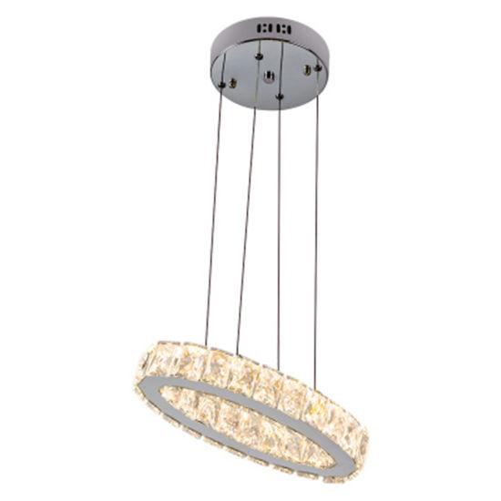 Modern K9 Crystal Chandelier Lamp AC110V 220V