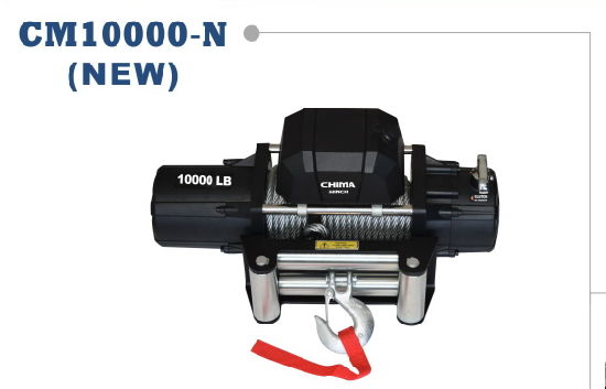 New Style Electric Winch, 10000lb Pull Capacity 12VDC