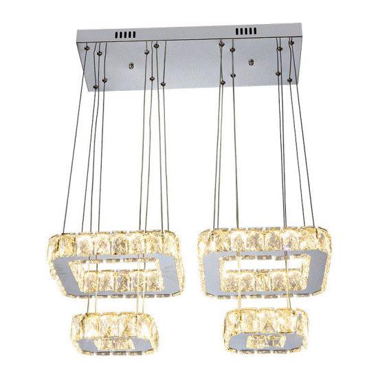 Modern LED Crystal Chandelier for Home Decoration