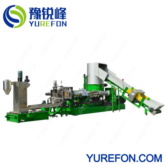 Waste Plastic Pet Bottle Flake/Drum/Pallet/PP/HDPE/LDPE/Rubber/Lump/PVC Pipe/PE Film/Jumbo Woven Bags/Garbage Crushing Crusher Recycling Plant Washing Machine
