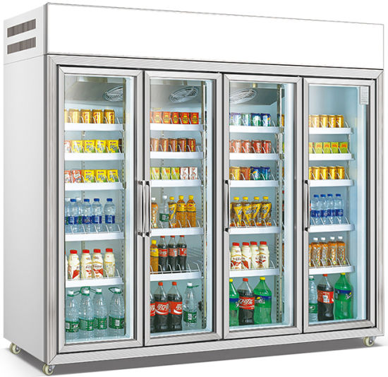 中国超市商业饮料瓶展示冰箱冰柜 (LG-135) - 中国展柜和冰箱价格