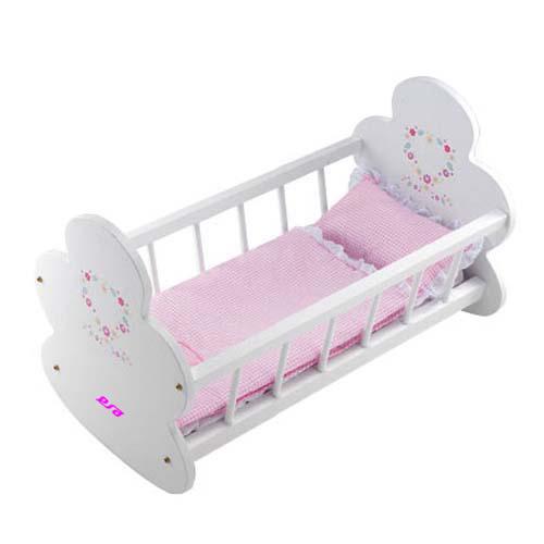 Wooden Kids Baby Bed Crib (WJ278012)