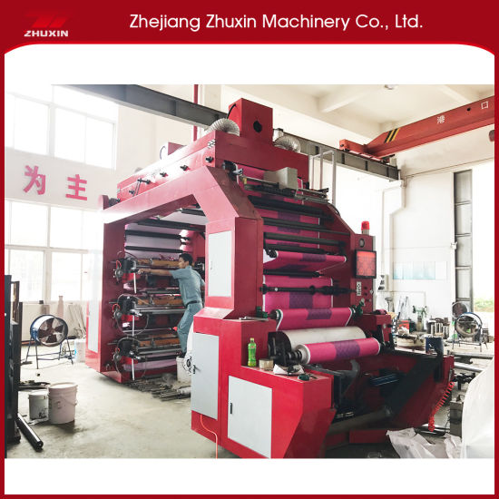 Plastic Printing Machine Suitable for Printing Packing Materials
