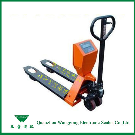 China Digital Warehouse Using Forklift Truck Scales - China Forklift