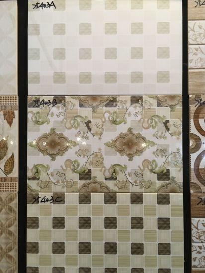 China Indoor Flower Decorative Purple ABC Design Ceramic Wall Tile ...