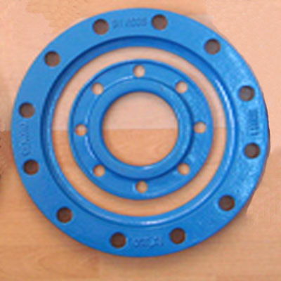 China ASTM Ductile Iron Backing Ring for HDPE Flange