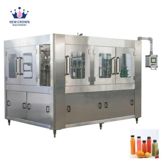 Zhangjiagang Automatic Fruit Juice Water Bottling Machine Pet Bottle Beverage Liquid Filling Packing Package Plant Line with Ce UL