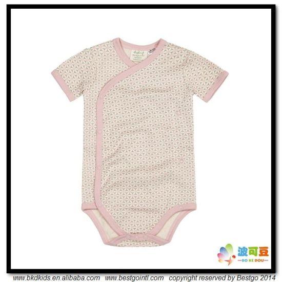 All-Over Printing Baby Apparel Kimono Style Babies Bodysuits